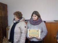 Dra Magdalena Iurescu, cetăţean de onoare al comunei Bilca