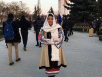 Cântăreaţa Maria Andreea Vârlan a reprezentat cu mândrie femeia din Bucovina