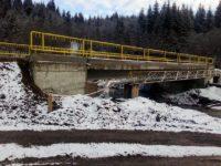 Podul peste râul Dorna, din zona Alexeni, finalizat şi redeschis traficului