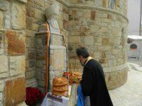 Elogiu în piatră din piatră de Bucovina