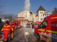 Un azil de bătrâni din Vama a luat foc