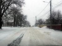 Circulaţie dificilă din cauza ninsorii şi a viscolului