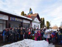 Cercetaşii din Suceava au petrecut patru zile de neuitat în ţinuturile Putnei, în tabăra de iarnă