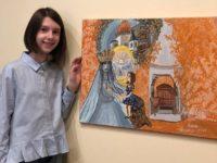 """Suceveanca Anastasia Hisem, în vârstă de 9 ani, premiată la Concursul naţional """"Carmen Sylva"""""""