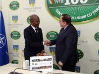 Autorităţile sucevene s-au întâlnit cu ambasadorul Africii de Sud, Jabu Mbalula
