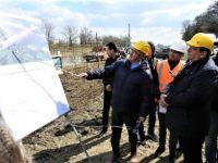 Ion Lungu şi Gheorghe Flutur au dat startul lucrărilor la al treilea pod peste râul Suceava al reşedinţei de judeţ