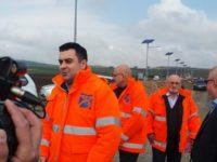 Ministrul Transporturilor a inspectat lucrările la şoseaua de centură a Sucevei