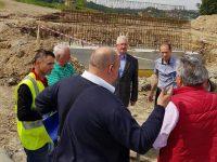 Ion Lungu a inspectat lucrările la noul pod peste râul Suceava