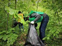 Peste 140 de tone de deşeuri colectate în acţiunea de igienizare organizată de Romsilva şi Ministerul Tineretului şi Sportului