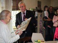 Centenara municipiului Suceava, Lucea Bohatereţ, sărbătorită la împlinirea a 102 ani