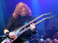 Dave Mustaine de la Megadeth a mulţumit fanilor pentru susţinere după ce s-a aflat că suferă de cancer de gât