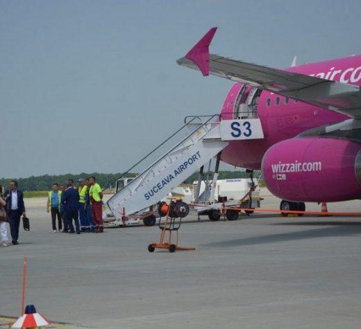 Cursa aeriană Memmingen – Suceava a aterizat pe Aeroportul Suceava