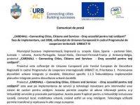 """""""CARD4ALL –Connecting Cities, Citizens and Services – Oraş accesibil pentru toţi cetăţenii"""" faza de implementare, cod 3938, cofinanţat de Uniunea Europeană în cadrul Programului de cooperare teritorială URBACT III"""