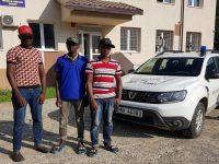 Trei cetăţeni din Gambia depistaţi în judeţul Suceava