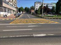 Primăria Suceava continuă să aplice marcaje rutiere suplimentare