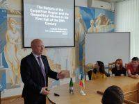 Prorectorul USV Ştefan Purici – conferinţă la Universitatea din Ivano-Frankovsk