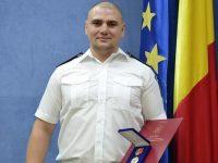 Diplomă şi placheta de onoare MAI pentru un poliţist de frontieră sucevean