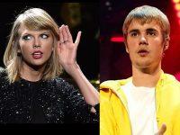 Taylor Swift, atacată de Justin Bieber