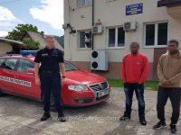 Doi migranţi din Madagascar şi Congo, opriţi la Falcău de poliţiştii de frontieră suceveni
