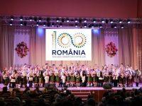 """Manifestarea cu prilejul a 100 de ani de la Marea Unire la Scoala Populara de Arta si Civilizatie Româneasca """"Ciprian Porumbescu"""" din Cernauti"""