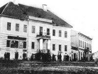 Edificiul primăriei oraşului Siret în anul 1910, Colecţia Octavian Colotelo