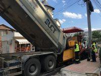 Gheorghe Flutur a verificat lucrările de asfaltare la drumuri judeţene