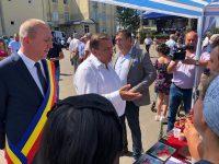 Lideri PNL, PSD şi ALDE pe scenă împreună la Zilele comunei Moara