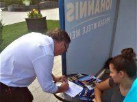 Dan Ioan Cuşnir i-a surprins pe liberalii suceveni semnând pentru candidatura lui Klaus Iohannis
