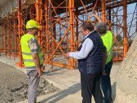 Preşedintele CJ a inspectat lucrările de la podul de la Vereşti