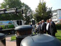 O sută de platforme semiîngropate de colectare a deşeurilor, date în folosinţă în Suceava