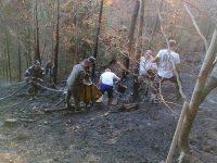 Aproape 2 ha de teren afectate de un incendiu provocat de fumatul în locuri nepermise