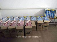 Captură impresionantă de ţigări de contrabandă reuşită de poliţiştii de frontieră suceveni