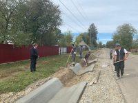 Preşedintele CJ a verificat lucrările la drumul Boroaia – Giuleşti – limita cu judeţul Neamţ