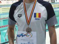 Şerban Cotos a urcat de două ori pe podiumul Cupei României la înot