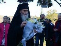 La Mănăstirea Secrieş, slujbă arhierească