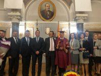 Profesorul Ştefan Purici, distins cu titlul de Doctor Honoris Causa al Universităţii din Cernăuţi