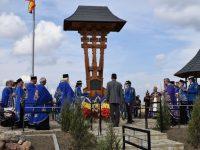 Monumentul eroilor de la Spătăreşti a fost sfinţit