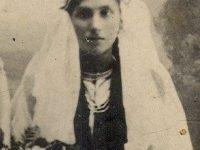 Ştefania Broască Cijevschi, mama Valeriei, mireasă