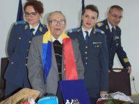 Veteran de război, maistru de aviaţie, aniversat şi decorat la 103 ani