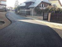 Aleea care leagă strada Bistriţei de strada Viitorului, în cartierul sucevean Obcini, a fost asfaltată