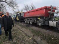 Preşedintele CJ Gheorghe Flutur a predat constructorului amplasamentul DJ 178 C Rădăuţi – Frătăuţii Vechi – Frătăuţii Noi – Bilca – Vicovu de Sus