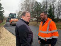 La Horodnic de Sus au început lucrări de asfaltare