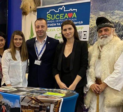 """Aplicaţia """"SuceavaCityApp"""" a fost lansată oficial la Târgul de Turism al României"""