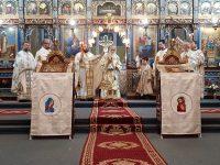 Slujbă arhierească la Catedrala Unirii Naţionale din Rădăuţi