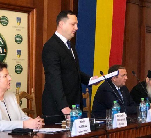 Noul prefect de Suceava este Alexandru Moldovan