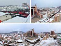 """Samjiyon, oraşul de vis al lui Kim Jong-un, o """"utopie a socialismului"""", a fost inaugurat"""