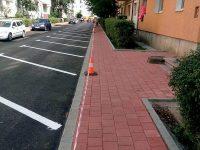 Lucrările de modernizarea infrastructurii stradale din acest an s-au încheiat cu finalizarea proiectului din cartierul Zamca