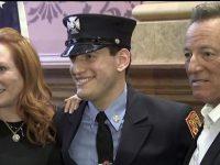 Bruce Springsteen, mândru de fiul său care a devenit pompier în New Jersey