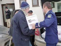 În condiţiile temperaturilor scăzute, peste 40 de poliţişti au acţionat pentru protejarea persoanelor fără adăpost