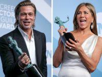 Brad Pitt şi Jennifer Aniston au acaparat atenţia la gala premiilor Sindicatului Actorilor Americani